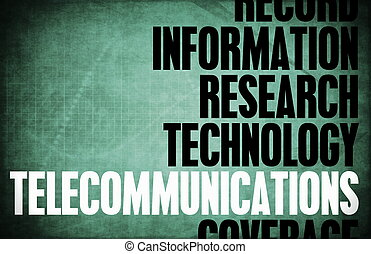 Telecommunications Core Principles as a Concept Abstract