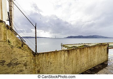Alcatraz island, San Francisco, California - The Recreation...
