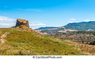 Nuraghe Peddaggiu in Sardinia nature - Nuraghe Peddaggiu...