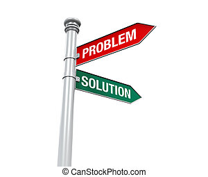 Direction Sign of Problem Solution