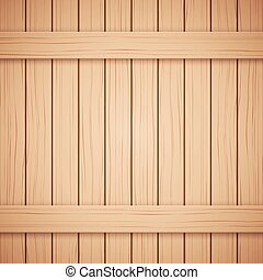 Vector Wood plank texture for your background - Vector Wood...