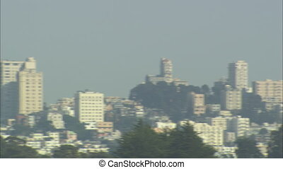 San Francisco Skyline panning