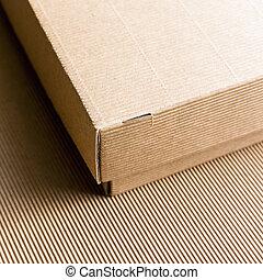 caixa, papelão