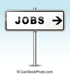 jobs directional sign