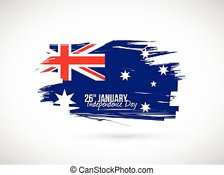 australia independence day flag