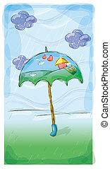 Regnfulde, dag