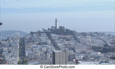 SF Telegraph Hill Zoom Out .mov - Zoom out to XLS of...