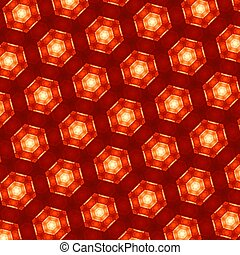 Abstract Background Texture - Geometric Pattern Of