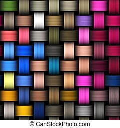 Intertwined abstract background - Colorful abstract...