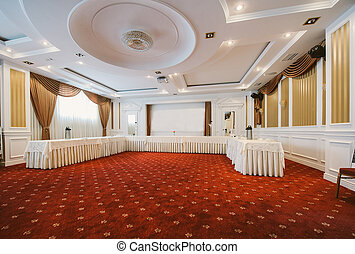 Conference room in classic style