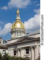 New Jersey State House capitol building is located in the...