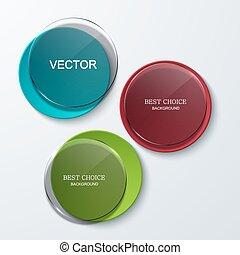 Vector moder banners element design. Modern background....