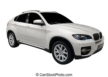 4x4 suv isolated - 4x4 suv car isolated