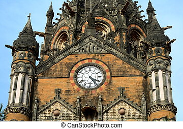 Old building in Mumbai-II - A beautiful old building in an...