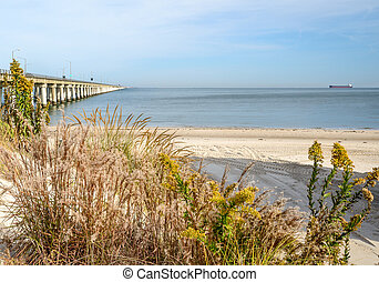 Chesapeake Bay Bridge - A look at the Chesapeake Bay bridge...