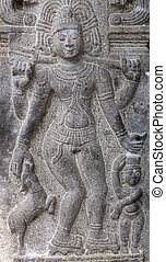 Piksadanar sculpture at Annamalaiyar Temple in...