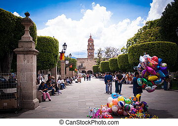 Picture of Morelia´s downtown.