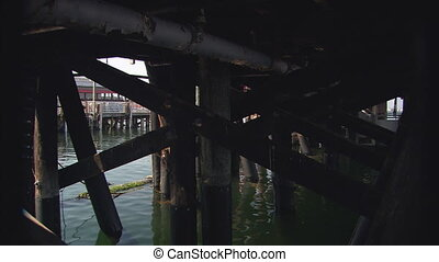 UnderThePier - MS under the pier at the Monterey Harbor and...