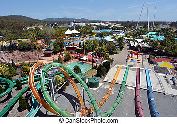 WetnWild Gold Coast Queensland Australia - GOLD COAST, AUS -...