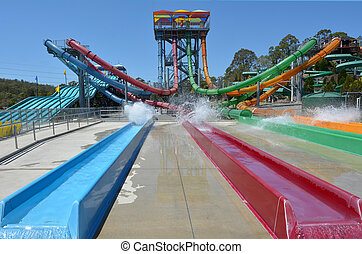 Wet'n'Wild Gold Coast Queensland Australia - GOLD COAST, AUS...