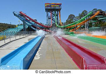 Wet'n'Wild Gold Coast Queensland Australia - GOLD COAST, AUS...
