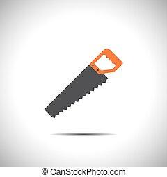 hacksaw vector icon
