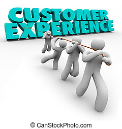 Customer Experience Workforce Clients Pulling Words...