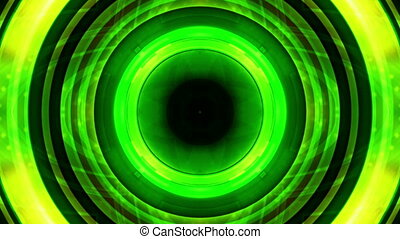 Geometric Green Strobe Looping Abstract Animated Background