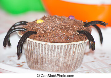 Cupcake - curios decoration for halloween