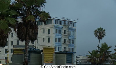 Venice Beach Apartment, Medium - A long medium shot of a...