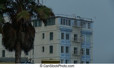 Venice Beach Apartment, Close - A long close shot of a...