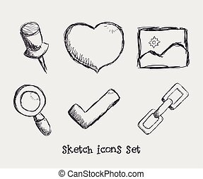 manager icons design - manager icons graphic design , vector...