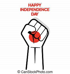 Independence Day of japan,