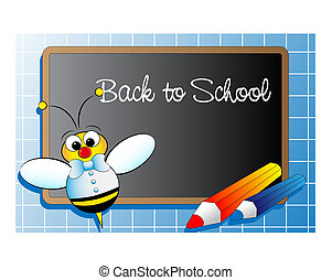 Back to school . Kids Illustration