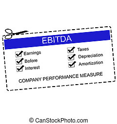 EBITDA Blue Coupon Concept with great terms such as...