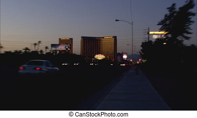 Welcome To Vegas XLS zoom2 - XLS zoom into CU of the Welcome...