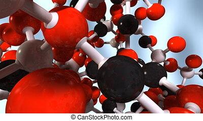 molecula 04 - Molecule with matte