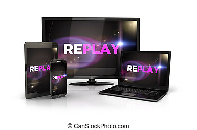3d computer devices - 3d replay screen on computer devices,...