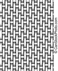 basket weave - black and white basket weave pattern