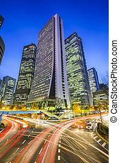 Tokyo, Japan Shinjuku Skyscrapers - Tokyo, Japan cityscape...