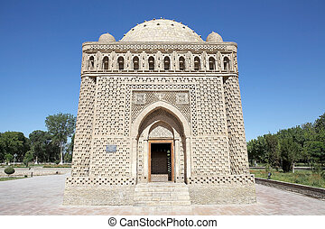 Bukhara - Ismail Samani Mausoleum in the historic centre of...