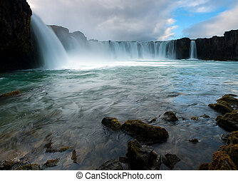 Godafoss, Northern Iceland - Godafoss waterfall Northern...