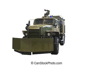 military engineering machine - Engineering wheeled machine...