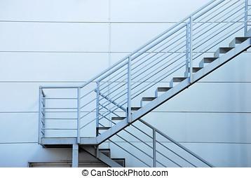 Sécurité, escalier