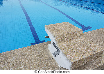 Swimming Pool with start number 7