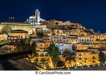 Ibiza old town Dart Vila - Old town Ibiza on the hill...
