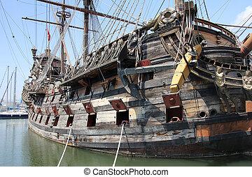 """Wooden Galeone Neptune - The """"Neptune"""" Galleon, tourist..."""