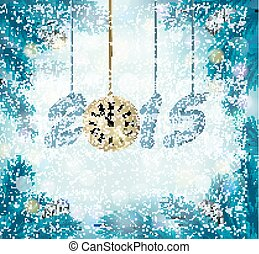 Happy new year 2015 New year design template Vector...