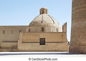 Bukhara - Ancient building in the historic centre of...