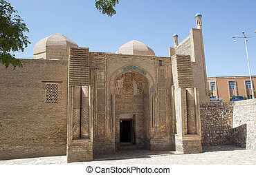 Bukhara - Magoki Attori Mosque in the historic centre of...